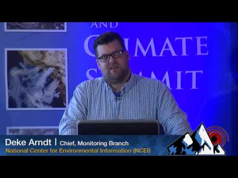 Weather and Climate Summit - Day 1, Deke Arndt