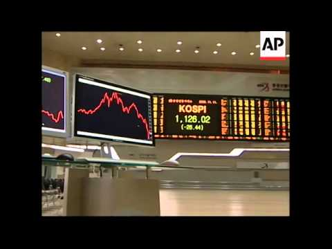 Tokyo and Seoul stock markets open lower