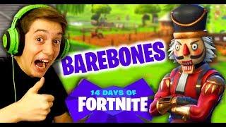 NEW Fortnite Barebones Gameplay with Crackshot Skin!!