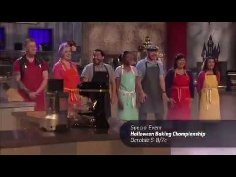 Halloween baking championship promo - YouTube
