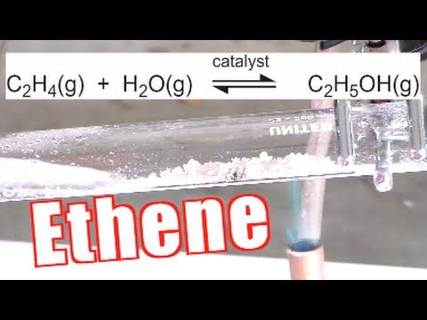 How to Make Ethene (Ethylene) - Catalytic Dehydration of Ethanol
