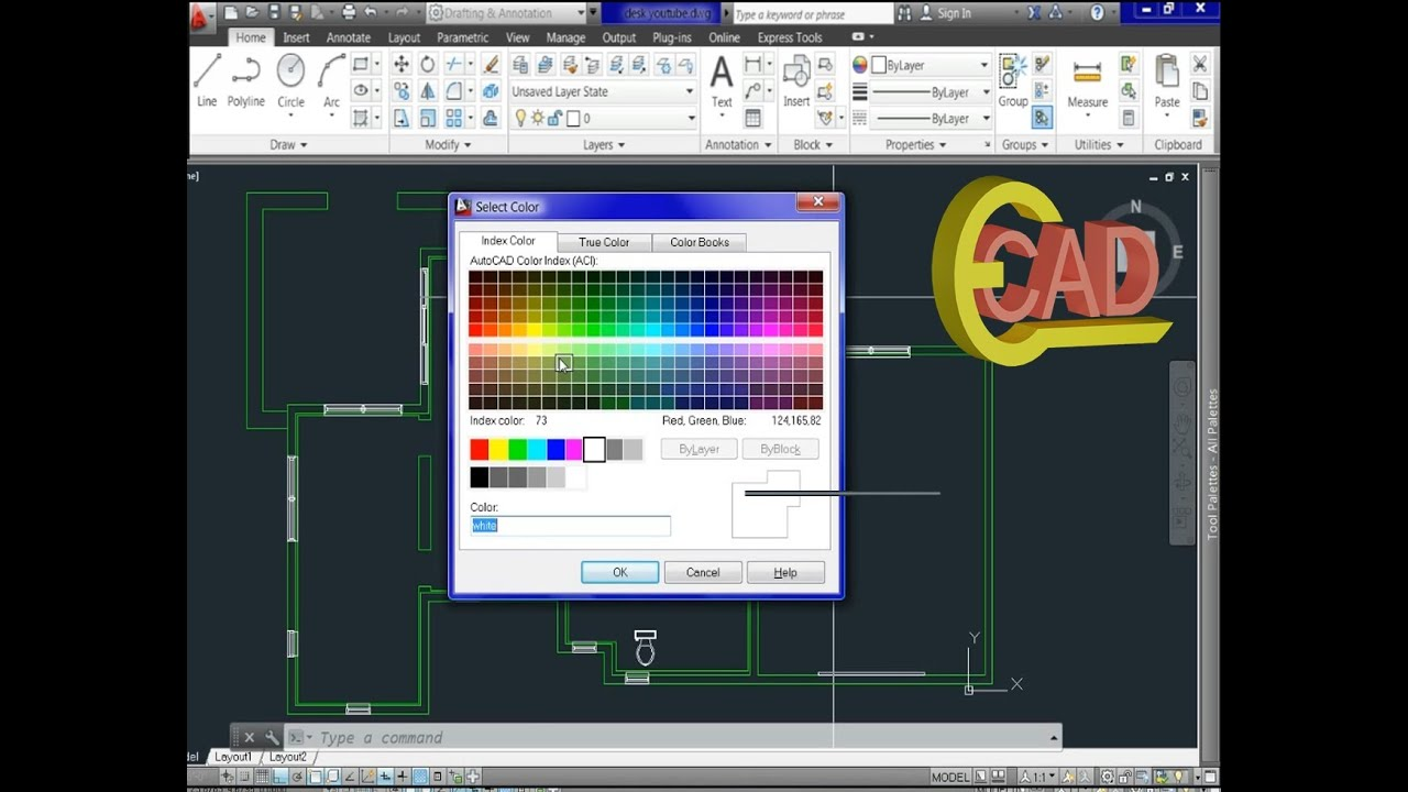"Palette Cad Learning Autocad 2013 Tutorial 11: ""palettes And Layers"