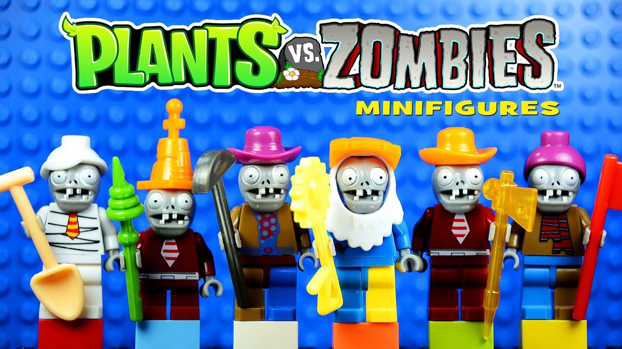 Lego Plants Vs Zombies Garden Warfare Knockoff Minifigures Set 2