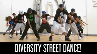 ASHLEY BANJO'S SECRET STREET CREW! | DIVERSITY SHOW THEIR MOVES! | SOMETHING ABOUT ME