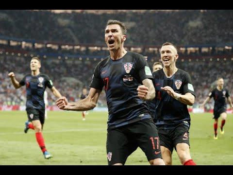 Croatas comemoram classificação do país para final do Mundial | SBT Brasil (12/07/18)