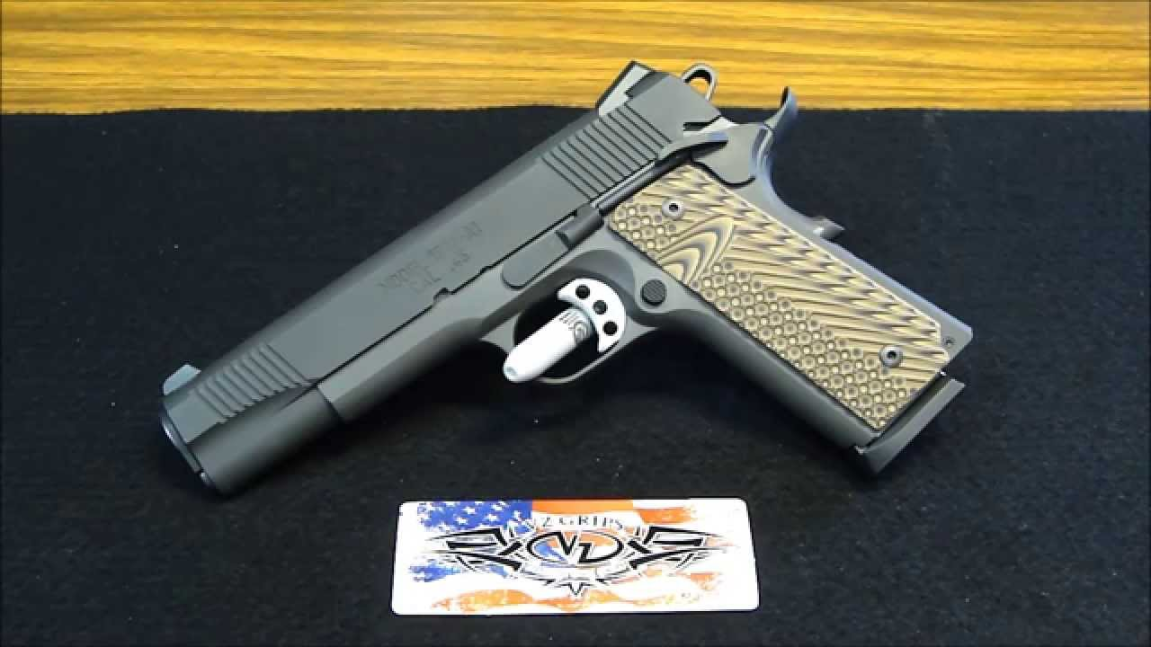 Springfield Armory 1911-A1 Loaded Parkerized UPDATE: New VZ Grips