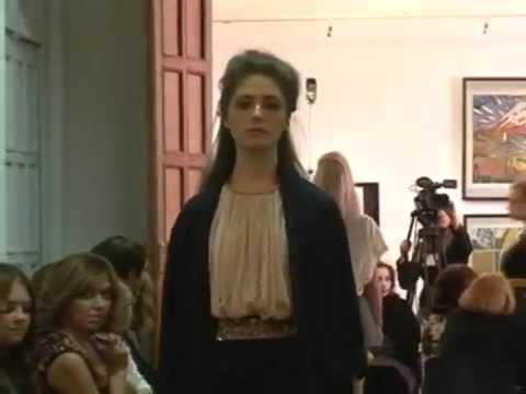 12  Fashion Week Novosibirsk 2012 IRINA FILIPPOVA music by Miss Kittin-Happy Violentine EMI