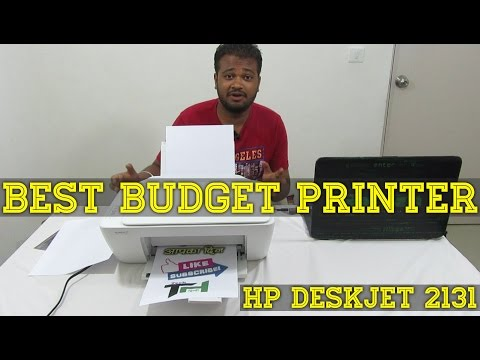 (Check Description) : Best Budget All In One Printer Review 2017 - India | HP DeskJet 2131