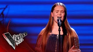 Pheobie Performs 'Feels Like Home' | Blind Auditions | The Voice Kids UK 2019