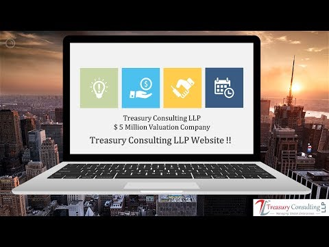 Tour of Treasury Consulting LLP Website !!