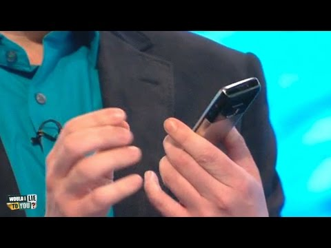 "David Mitchell: ""The screensaver on my phone is a photo of my carpet."" - Would I Lie to You? [CC]"