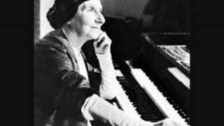 """Wanda Landowska gra """"A Ground"""" Purcella"""