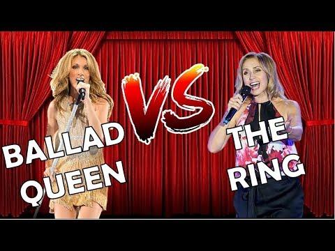 Celine Dion vs Lara Fabian | INCREDIBLE Belting Battle (A4-G5)