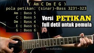 Kunci Gitar SUCI DALAM DEBU - Iklim | Versi Petikan (By GE Mahendra)