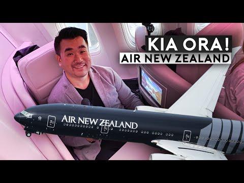 Air New Zealand All Blacks B777-300/ER to London