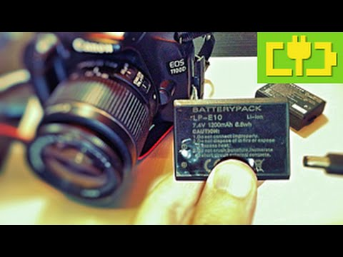 Canon EOS 1100D Continuous Power With Battery Hack Under $5