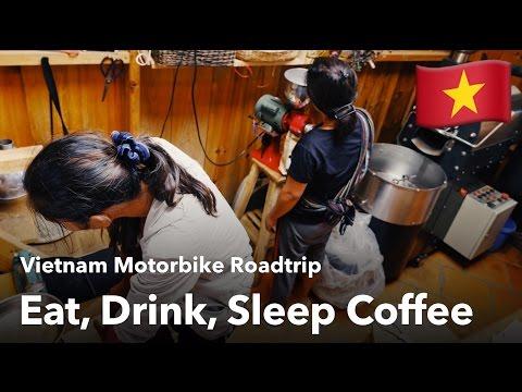 Eat, Drink, Sleep Coffee - Plantation Tour | Vietnam Roadtrip Vlog Part II