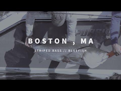 New England Fishing // Boston, MA // Episode 105
