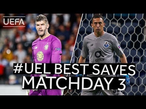 FORSTER, MARCHESÍN: #UEL BEST SAVES, Matchday 3