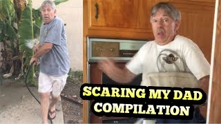 Scaring my dad