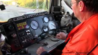 Repeat youtube video Тепловоз TMZ-1413 (Швеция) / TMZ-1413 diesel locomotive (Svaapavaara, Sweden)