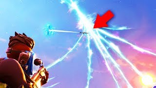 GO LOOK!! *NEW* Secret MILITARY JETPLANE Flying THROUGH THE PORTALS..   Fortnite: Battle Royale
