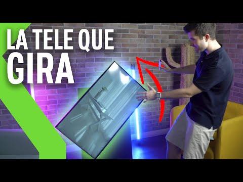 PROBAMOS la TV QUE GIRA de Samsung: Unboxing y Análisis tras primera toma de contacto de The Sero