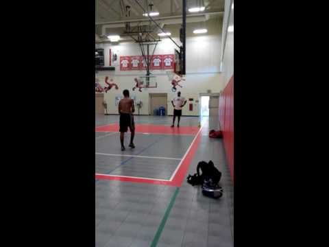 Marshall Webb workout part.2 Olden Polynice