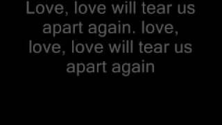 Joy division love will tear us apart lyrics