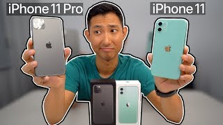 【Iphone 11開箱】 11 RRO MAX 黑+  11 綠色 開箱評測!