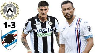 Udinese Calcio vs UC Sampdoria 1-3 ● Football Match Preview ● 12/07/2020