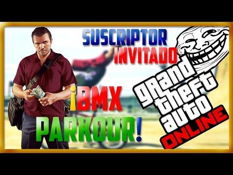 BMX Parkour | Grand Theft Auto 5 Online | Ft. aledjp