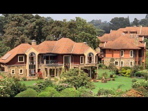LUXURIOUS AND WEALTHY NEIGHBOURHOODS IN NAIROBI, KENYA ~ AFRICA.