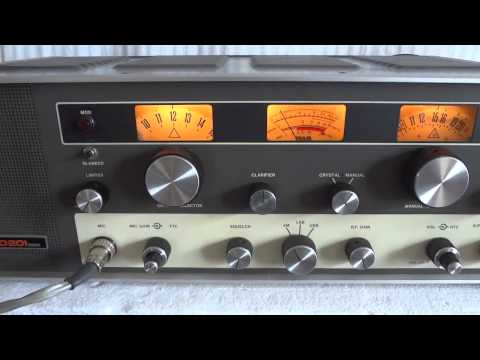 Tram Diamond D201 vintage tube AM/SSB CB radio