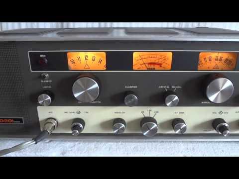 Tram Diamond D201 vintage tube AM/SSB CB radio