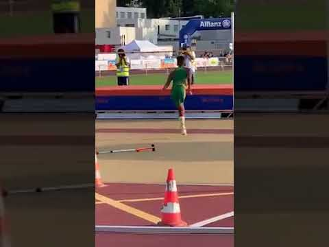 Jonny Hartwell - ONE-LEGGED HIGH JUMPER: The BEST Thing You'll See Today...All Week!