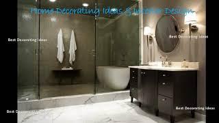 Bathroom design ideas walk in shower   Modern washroom & showering area design picture