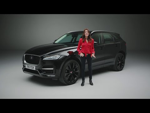 Jaguar F-PACE Unwrapped (20MY)