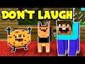 TRY NOT TO LAUGH CHALLENGE - Minecraft Challenge (Minecraft Edition)