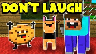 TRY NOT TO LAUGH CHALLENGE - Minecraft Challenge (Minecraft Edition)