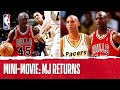 Mini-Movie: Jordan Makes His RETURN To Hoops | The Jordan Vault