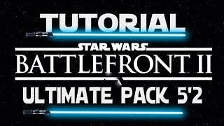 Tutorial | Como descargar Star Wars Battlefront 2 con mods Gratis | Ultimate Pack