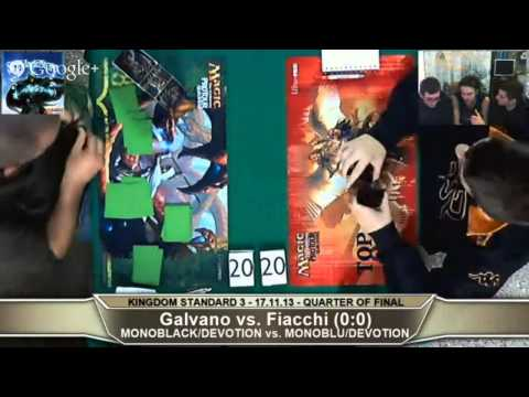 SkyMagicStore KINGDOM STANDARD 3 (17.11.13) - QUARTER OF FINAL - Galvano vs. Fiacchi