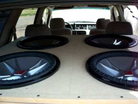 "4 15"" Kicker CVRs 2000W RMS - YouTube"