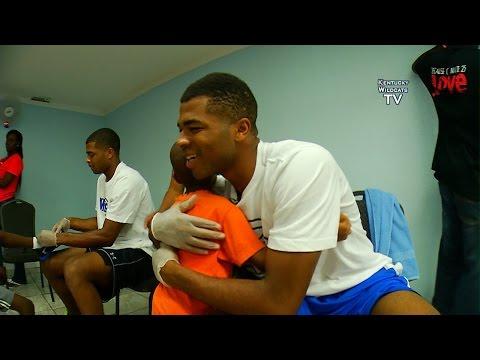 Kentucky Wildcats TV: Kentucky Basketball - Samaritan's Feet in the Bahamas