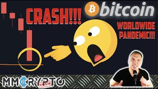 AFTER BITCOIN BROKE THIS LEVEL WE ALWAYS SAW 50% CRASHES!!! STOCK MARKETS CRASHING MORE!!!