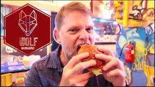 Taste Testing Wolf Burger in Singapore