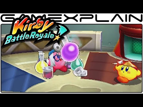 Kirby: Battle Royale - Overview Trailer (JP)