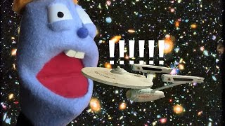 Puppet Science News - Explores Space!