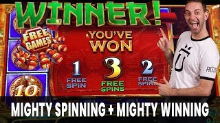 💪 Mighty SPINNING + 💪 Mighty WINNING 💪 Brian Christopher Slots